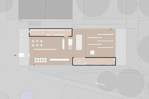 Besucherzentrum Entwurf Grundriss