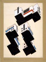 Arndt_Alfred_Farbplaene_Bauhaus_Meisterhaeuser_Dessau