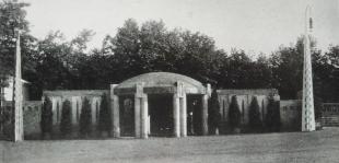 Ausstellung 1908 - Eingang Platanenhain