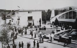 1901 Ernst-Ludwig-Haus Gartenanlage