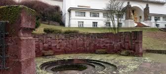 Oberirdisch in Darmstadt: Ernst Ludwig-Brunnen.