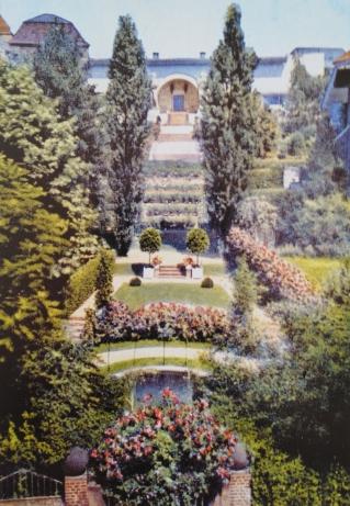 Gartenanlage Ernst-Ludwig-Haus