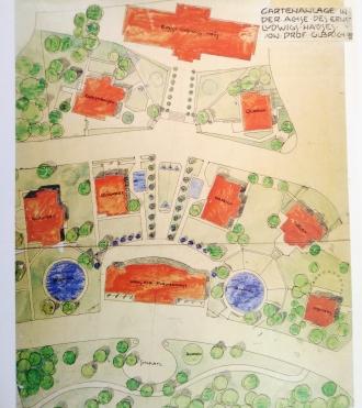 Gartenanlage Plan