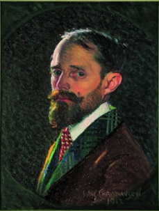 Hans Christiansen_Selbstportrait 1912_Museumsberg Flensburg