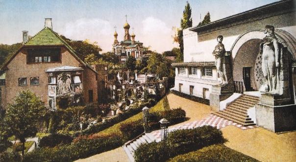 Haus Christiansen_Postkarte_Garten ab 1903