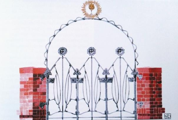 Haus Olbrich 1901_Sonnenportal