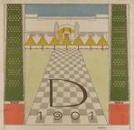 Olbrich_Plakat Ausstellung 1901_oberer Teil